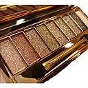 9 Paleta de Sombras de Ojos Seco / Brillo / Mineral Paleta de sombra de ojos Polvo NormalMaquillaje de Diario / Maquillaje Smokey /