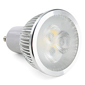 GU10 Focos LED MR16 3 LED de Alta Potencia 310 lm Blanco Cálido Regulable AC 100-240 V