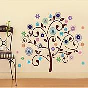 Createforlife ® flor de la buena Árboles Niños Parvulario etiqueta de la pared la pared del arte Tatuajes