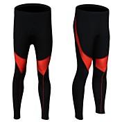 Realtoo Homens Mulheres Unisexo Secagem Rápida Respirável Meia-calça Calças para Ciclismo/Moto Elastano Poliéster M L XL XXL XXXL