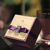 6 Piezas / Juego Holder favor-Cúbico Papel de tarjeta Cajas de regalos Cajas de Regalos Sin personalizar