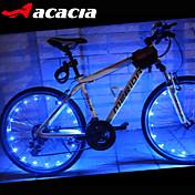 自転車用ライト ホイールライト LED - サイクリング 変色 セルバッテリ 400 ルーメン バッテリー USB サイクリング