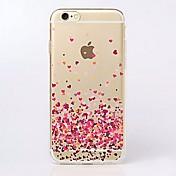 Para iPhone X iPhone 8 iPhone 7 iPhone 7 Plus iPhone 6 iPhone 6 Plus Carcasa Funda Ultrafina Transparente Diseños Cubierta Trasera Funda