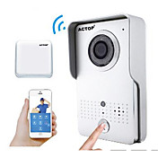 Actop vídeo wifi seguridad para el hogar inteligente timbre ios suppot función de alarma y de intercomunicación wifi602 andriod