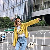 firmar nuevos hembra silvestre suéter flojo coreano chaqueta de punto