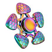 Fidget spinners Hilandero de mano Juguetes Tri-Spinner Spinner de anillo Metal EDC Juguetes creativos