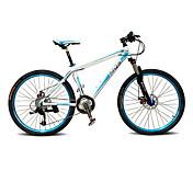Bicicleta de Montaña Ciclismo 27 Velocidad 26 pulgadas/700CC BB5 Disco de Freno Horquilla de suspenciónCuadro de Aleación de Aluminio