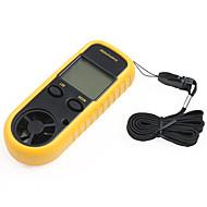"""Smart-anturi 1,5 """"LCD digitaalinen tuulennopeus anemoscope + Wind Chill lämpömittari"""