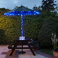100 Blue Outdoor Led Solar Fairy Lights Christmas Decor Lamp Gifts