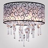 Vestavná montáž ,  moderní - současný design Buben Galvanicky potažený vlastnost for Křišťál Kov Obývací pokoj Ložnice