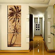 Moderni 3-osainen seinäkello, kanvaasi