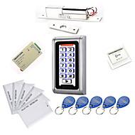 Metall Wasserdicht Access Controller Kits (Electric Bolt, 10 EM-ID Card, Power Supply)