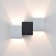 AC 85-265 2 Led Integrado Moderno/Contemporâneo Pintura Característica for LED Estilo Mini Lâmpada Incluída,Luz Ambiente Luz de parede