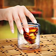 Kristallschädel Schuss Glas Cocktail Bierschale