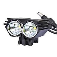 Luzes de Bicicleta Luz Frontal para Bicicleta LED Ciclismo 18650.0 Lumens Carregador AC Ciclismo