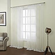 Dva panely Window Léčba Neoklasika , Novinka Ložnice Polyester Materiál Sheer Záclony Shades Home dekorace For Okno