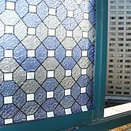 Geométrico Clássico Película para Vidros,PVC/Vinil Material Decoração de janela