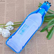 犬 餌入れ/水入れ ペット用 ボウル&摂食 携帯用 レッド ブルー