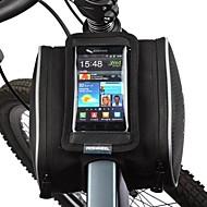 Geantă Motor 1.8LGenți Cadru Bicicletă Telefon mobil Bag Rezistent la Praf Ecran tactil Geantă Biciletă PU piele Poliester PVCGeantă