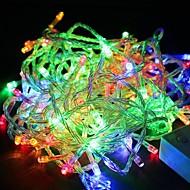 vandtæt 10m 100led rgb lys førte christmas lys dekoration string lys (110V)