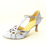 Dansesko(Sort Pink Sølv) -Kan tilpasses-Personligt tilpassede hæle-Damer-Moderne Ballet