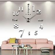relógio 3d grande decoração para casa mentais diy criativo parede personalidade para sala de estar 12s015-s
