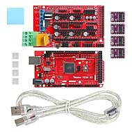 geeetech 3D εκτυπωτή Mega 2560 + ράμπα 1.4 επεκτείνει ασπίδα + drv8825 stepper σετ οδηγού