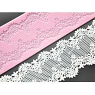 Four-C kake blonder matte silikon mold kake dekorere forsyninger, silikon mat fondant kake verktøy fargen rosa