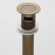 オーバーフローアンティーク触発真鍮浴室の洗面台のドレインにドレインをポップアップ