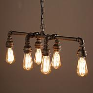 Riipus valot ,  Rustiikki Retro Vintage Muut Ominaisuus for Minityyli Metalli Living Room Ruokailuhuone Pelihuone