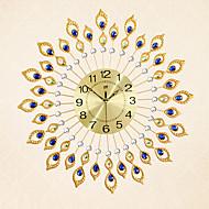 Horloge murale - Rond/Nouveauté - Moderne/Contemporain - en Verre/Métal