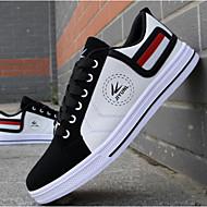 Herre Vulkaniserte sko Kunstlær Vulkaniserte sko Hvit Rød Gul