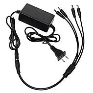 les détails de dearroad environ 12v 5a AC / DC nous Plug Adapter alimentation caméra CCTV 4 Port Splitter