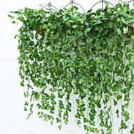 Afdeling Plastik Planter Vægblomst Kunstige blomster 90*5cm