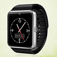 Smartur Kamera Touch Screen Lyd Anti-lost Handsfree opkald Aktivitetstracker Sleeptracker Vækkeur Kalender Samtalepåmindelse Bluetooth 3.0