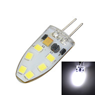 G4 Silicone 3W 150-250lm 3500K/6500k 12x SMD 2835 LED Warm/Cool White Light Bulb Lamp (AC/DC 12V)