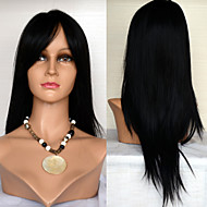 22inch Lace Front Hair Wigs Celebrity Style Hair Wigs 100% Human Hair Mongolian Virgin Hair Straight Hair Wigs for Women