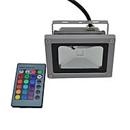 Focos de LED 1 LED Integrado 440lm lm RGB Impermeável Controle Remoto AC 85-265 V 1 pç