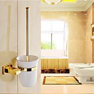Wc-harjateline / Kylpyhuoneen laitteet Ti-PVD Seinään asennettu 7.8cm*3.9cm*38cm(17*13.8*14.9inch) Messinki Uusklassinen