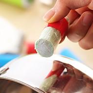 מברשת ניקוי מסיר חלודה קסם מקל מתכת מוט נירוסטה קסם 2pcs ziqiao (בצבעים אקראיים)