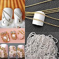 Nail Jewelry-Punk-Sormi / Varvas-Metalli-1*1*0.5-1m