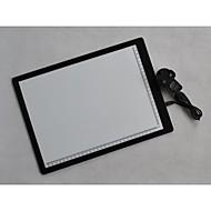 basekey a4 ultra fino rastreamento pad lightbox caixa de luz tatuagem placa de stencil levou