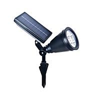 4LED abs venkovní solární reflektor krajina bodové světlo zahradní sekačka na povodňové lampu