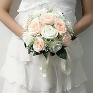 Bryllupsblomster Rund Roser Buketter Bryllup Fest & Aften Sateng 9.84 tommer (ca. 25cm)