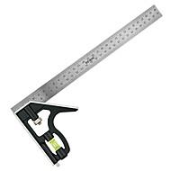 combinação de liga de alumínio ferramenta rewin® quadratura do régua de aço com função de nível
