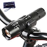 A100 LED-Zaklampen LED 3000 Lumens 5 Modus Cree T6 Batterijen niet inbegrepen Verstelbare focus Schokbestendig Antislip-handgreep