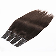 """20szt brazylijski ludzkiego włosa rozszerzeń taśma włosy / 70g 24"""" 26"""" pu skóra wątek człowieka przedłużanie włosów włosy wątek"""