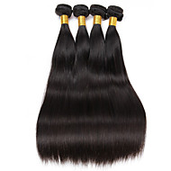 6a cheveux vierges brésiliens 4 paquets 200g cheveux droles Cheveux bruns vierges bruns