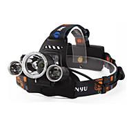 Hoofdlampen Hoofdlampband LED 6000 Lumens 4.0 Modus Cree XM-L T6 18650 Oplaadbaar Waterbestendig Nacht Zicht Kamperen/wandelen/grotten