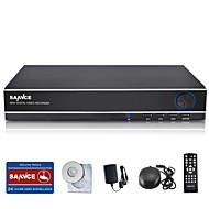 sannce 8ch 960H DVR entrada multi-mode w 1080p / VGA / BNC tempo de saída real HDMI visualização remota / ecloud, código do qr p2p